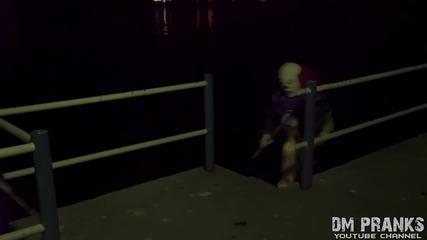 Клоунът убиец 3 - страшна шега (смях)