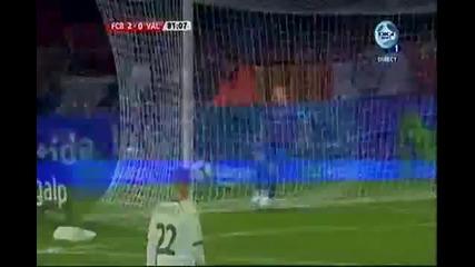 Барселона - Валенсия 2 - 0 08.02.2012