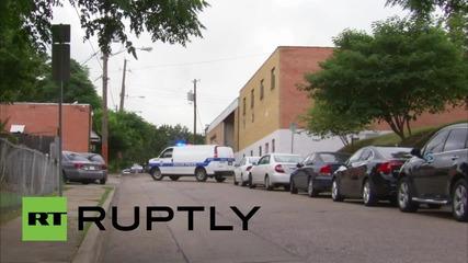 Евакуация в Далас заради стрелба