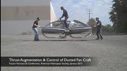 Летящ Мотоциклет като от междузвездни войни Tandem-duct Aerial Demonstrator