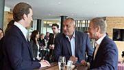 Борисов предава европредседателството на Австрия