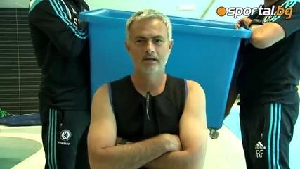 Жозе Моуриниьо - Ice Bucket Challenge