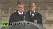 Germany: President Gauck pays tribute at Bergen-Belsen concentration camp