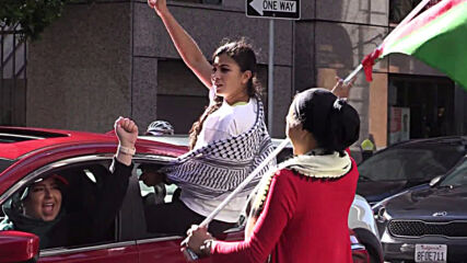 USA: 'Day of Rage' car-honking protest in SF slams Israel's planned annexation of West Bank