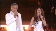 Sarah Brightman & Andrea Bocelli - Time To Say Goodbye / Con te partiro