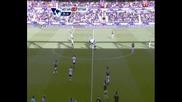 25.09.2010 Уест Хям 1 - 0 Тотнъм гол на Пикион
