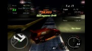 Nfsu2 - Parkade Drift 2 - 454, 396 Pts