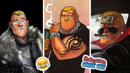 Няма безразлични към Тони Патето! BG гларусът, който може да покори Marvel с анцуг
