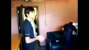 Alex and Kiowa going to play vampire baseball