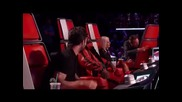 The voice - Blake's broken chair
