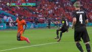 Мемфис Депай откри срещу Австрия след безпощадно изпълнение на дузпа
