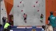 Катерене по стена - Световен рекорд 5,57 секунди