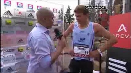 Бял човек слезе под 10 секунди на 100 метра - Кристоф Леметър - 9.98 сек.