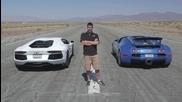 Едни от най - расовите спортни автомобили в директен двубой