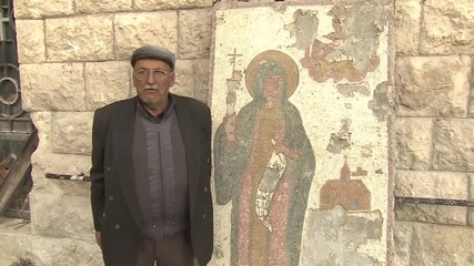 Syria: Historic Christian monasteries left in ruins by militants in Maaloula