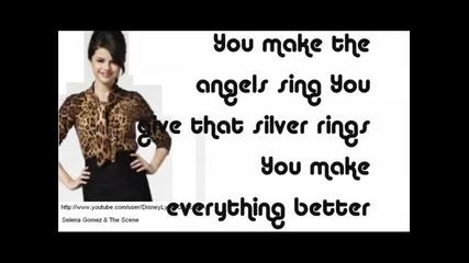 Selena Gomez & The Scene - I Promise You (karaoke)
