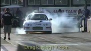 Honda Drag Racing Sfwd Boti Street Comp Civic Turbo Fontana