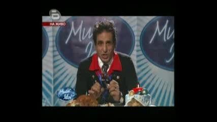 Music Idol 3 - 21.04.09г. - Смях: Великденския Коментар на Марин!