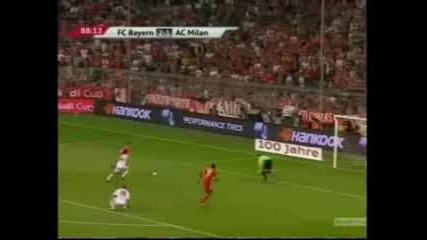 Байерн (мюнхен) победи Милан с 4 - 1 за Audi Cup