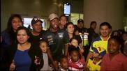 Посрещнаха еквадорците като герои у дома