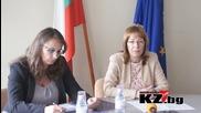 Кметът Галина Стоянова: През 2015г. ще положим най-много асфалт