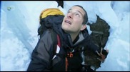 Man vs. Wild - Arctic Circle - Ice Cave Squeeze