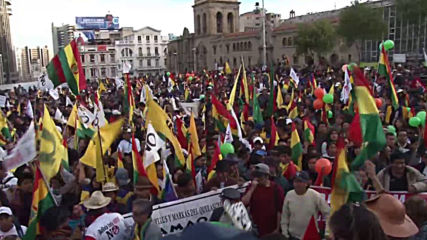 Bolivia: Thousands rally to oppose Morales's bid for fourth presidential term