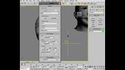 Анимация на лице с Morpher в 3ds max