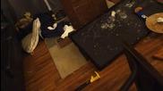 Ядосан баща троши телевизора когато отбора му загубва - Superbowl
