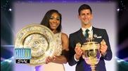 Serena Williams Dazzles at Wimbledon Champ's Ball