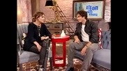 Ian Somerhalder on show Its On with Alexa Chung: The Vampire Diaries, L