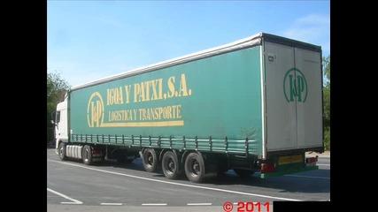 Стария камион на Лудия Камионджия