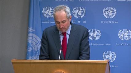 UN: Besieged areas in Yemen and Syria face humanitarian crisis - UN spokesperson