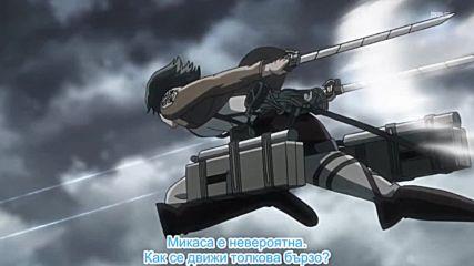 Shingeki no Kyojin Епизод 7 [bg subs][hd]