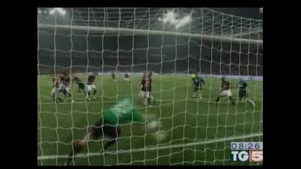Милан триумфира с 3:0 в градсдкото дерби с Интер