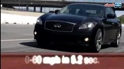 2010 Mercedes - Benz E550 vs 2011 Infiniti M56