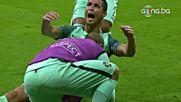 Извисен Роналдо изведе Португалия напред