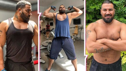 Здравата работа започва: Азис вае фитнес тяло със звезден треньор