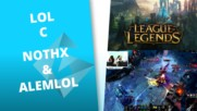 """NoThx и Alemlol играят ARAM League of Legends - GplayTV by ROCCAT """