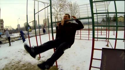 Няма студ, няма жега - Street Fitness [ Стара Загора ]