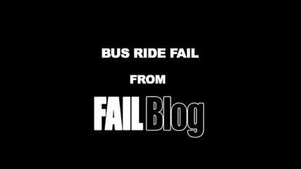 Момиче се разбива в тавана на автобус #2