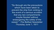 Всичко За Титаник