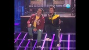 Ангел и Моисей - Baby, I love your way - X Factor Bulgaria Концертите