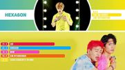 Ace - Take Me Higher Line Distribution Color Coded