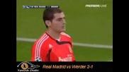 Real Madrid Vs Werder Bremen 2 - 1