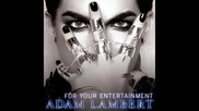 Превод! New! Adam Lambert - For Your Entertainment first song