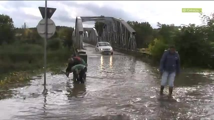 Наводнение в Симеоновград