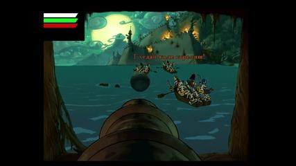Проклятието на Маймунския остров:провалът на зомби-пиратът Лечък