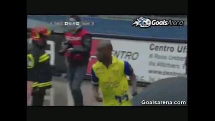 Chievo 1 - 2 Ac Milan serie A