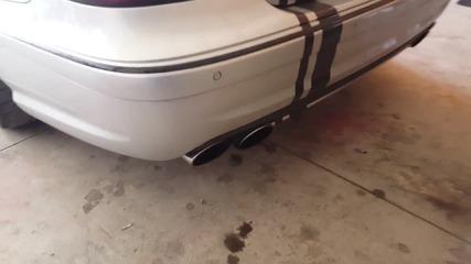 Mercedes E63 AMG sound
